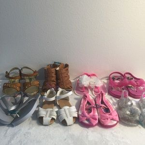 Toddler Girl Summer Shoe Bundle (8)